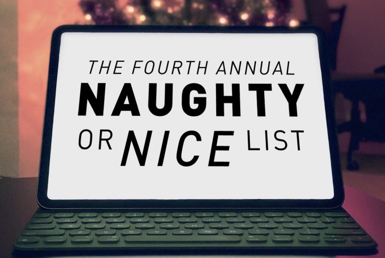 The Fourth Annual Naughty or Nice List